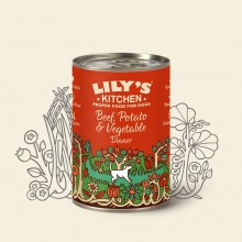 Lily's Kitchen Beef, Potato & Vegetable, 6 x 400 g