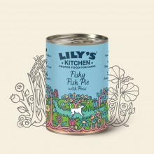 Lily's Kitchen Fishy Pie, Fisch & Erbsen, 400 g