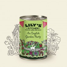 Lily's Kitchen English Garden Party, Huhn, 400 g