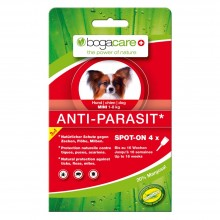 bogacare® ANTI-PARASIT Spot-on Hund MINI, 4 x 0.75 ml